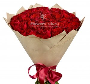Bouquet of 55 roses
